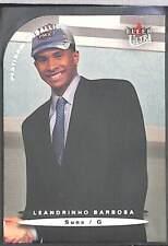 2003-04 Fleer Ultra Platinum Medallion Rookie 190 Leandrinho Barbosa No 9 of 100