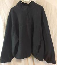 Athletic Works Fleece Pullover Sweatshirt w/ Zip Up Neck Region Men's Size 3XL