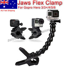 Jaws Flex Clamp Mount Clip Accessories Adjustable Neck Gopro Hero 5 4 3+ Go Pro