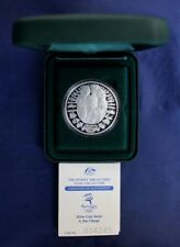 """2000 Australia Silver Proof $5 """"Olympics - Sea Change"""" in Case with COA   (G1/6)"""