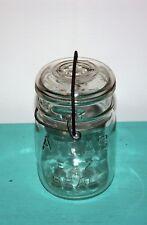 Anchor Hocking Atlas E-Z Seal Side Wire Jar Vintage