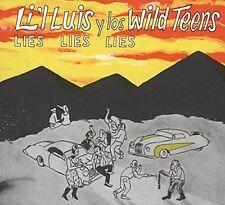 LI'L LUIS Y LOS WILD TEENS Lies Lies Lies CD wild rockabilly NEW rock 'n' roll