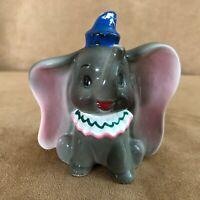 Dumbo vintage Disney porcelain figurine blue hat the flying elephant world walt