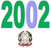 ITALIA 2002 Emissioni congiunte -  MNH ** Tutte le emissioni