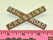 Lionel Parts 154-35 Railroad Crossing sign - Brown