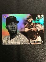 A98 2018 Bowman Platinum Rookie Revelations #RR-14 Amed Rosario New York Mets