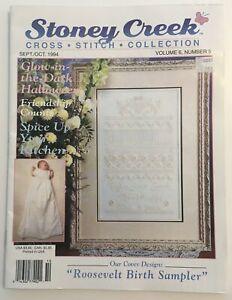 Stoney Creek Cross Stitch Collection Magazine - Volume 6, No. 5, Sept/Oct 1994