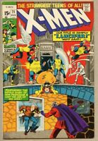 X-Men #71-1971 fn+ 6.5 X Men Roy Thomas Werner Roth