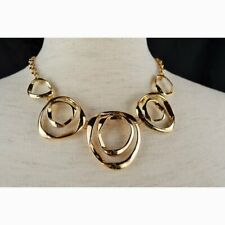 Massini Necklace & Earrings Set 18-in Length Gold Tone NEW WITH TAGS NWT