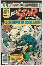 ALL STAR COMICS #62 8.0 VF G.A. SUPERMAN 1251