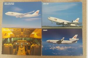 Japan Airlines Postcard Collection