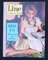 LINE recueil n°29. Album des n°389 à 401 - 1962. TBE