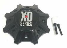 KMC XD Series Black Wheel Center Hub Cap 5/6/8Lug XD825 Buck 25 XD202 Buck 25