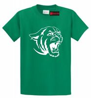 Cougar Tiger Face T Shirt Animal Graphic Tee