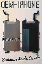 Placa Chapa Metal iPhone 6 (4.7) Soporte LCD Pantalla con Cable Flex Botón Home
