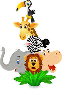 Jungle Animal Wall Sticker