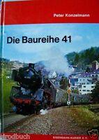 Die Baureihe 41 von Peter Konzelmann Eisenbahn-Kurier 1975