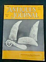 Antiques Journal 1965 Scrimshaw Happifats Carson Mansion Eureka New Hall China