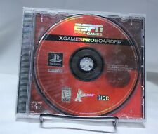 ESPN X-Games Pro Boarder PS1 Playstation One No Instructions