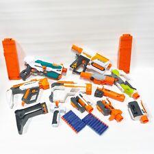 Nerf Modulus Blaster Dart Gun Accessories Lot Recon Mkii Tri-Strike Stockshot