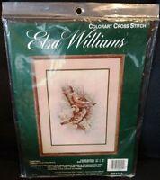 JCA Elsa Williams CHAFFINCH Birds Cross Stitch Kit 02041 Ruane Manning NEW!