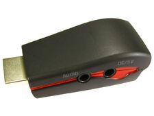 GC1105 HDMI to VGA & audio convertor dongle - retail bag