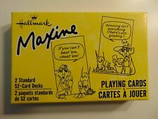 Hallmark Maxine Double Deck Playing Cards in Box
