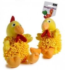 Ruff 'N' Tumble Shagg 'y' Hen 20cm ~ Soft Toy for Dogs ~ Squeaky