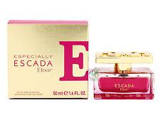 Escada Especially Elixir Edp 50ml Perfume de Mujer Eau de Parfum Spray Nuevo en Caja