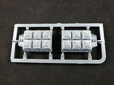 40K Space Marine Land Raider Crusader / Redeemer Frag Assault Launchers (Pair)