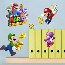 Super Mario Wall Stickers Removable Vinyl Stickers Art Kids Nursery Home Decor