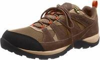 Columbia Men's Redmond V2 Waterproof Hiking Shoe,, Pebble/Desert Sun, Size 8.5 D