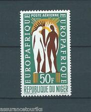 NIGER - POSTE AERIENNE - 1963 YT 30 - TIMBRE NEUF* - petite charnière