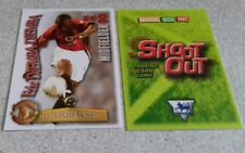 SHOOT OUT CARD 2003/04 (03/04) - Green Back- Manchester United - Djemba-Djemba