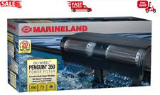 MarineLand Penguin 350 BIO-Wheel Power Filter 50 to 70-Gallon, 350 GPH