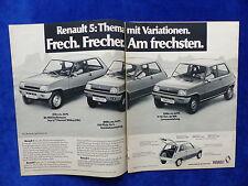 Renault 5 TS-bombardeados publicitarias advertisement 1976 __ (773-2