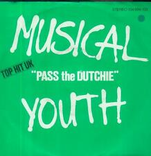 "7"" musical youth/pass the Dutchie (d) top hit uk"