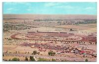 1950s/60s Aerial View of Cheyenne Frontier Days, Cheyenne, WY Postcard