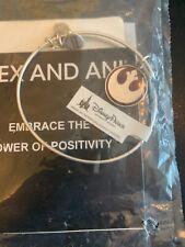 Disney Parks Authentic Alex and Ani Star Wars Rebellion Symbol Bracelet Silver