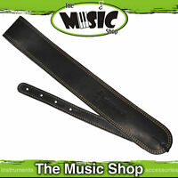 New Martin Black Ball Glove Style Leather/Suede Guitar Strap - STR-0013 - 0013