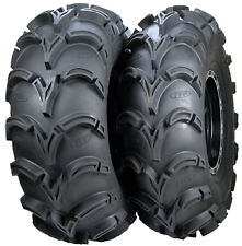 "TWO 2 DEEP 1.2/"" DEEP 26X9-12 XL  AMERICAN MADE ITP MUD LITE ATV TIRES NEW"
