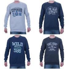 Markenlose Langarm Herren-T-Shirts mit Sport-Thema
