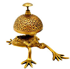 FROG BELL! SHIP CAPTAIN'S TABLE BRITISH FRENCH ARISTOCRACY OFFICE HOTEL DESKTOP
