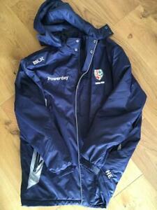 London Irish Rugby Player Issue Stadium Jacket - BLK - Harry Elrington - XXL