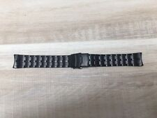 BULOVA HARLEY-DAVIDSON Black Stainless Steel Replacement Watch Band