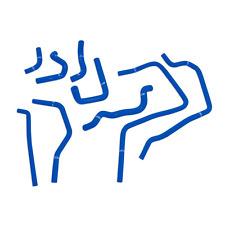 Mishimoto Blue Ancillary Hoses for 01-05 Subaru WRX | MMHOSE-SUB-ANCBL