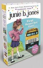 Junie B. Jones: Junie B. Jones's First Boxed Set Ever! Set by Barbara Park...