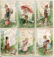 Chromo Liebig Sang. 413 TED Mondo dei Piccini ANNO 1894