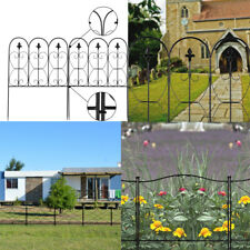 Home Garden Fence Iron Fence Folding Wire Patio Fencing Border Edging Barrier