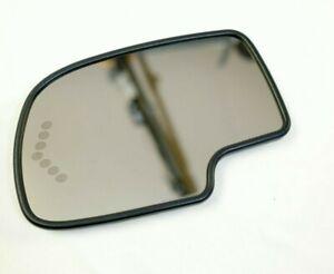✅ 03-06 Tahoe Yukon Escalade HEAT AUTO DIM Mirror LH DRIVER Turn GLASS ONLY OEM